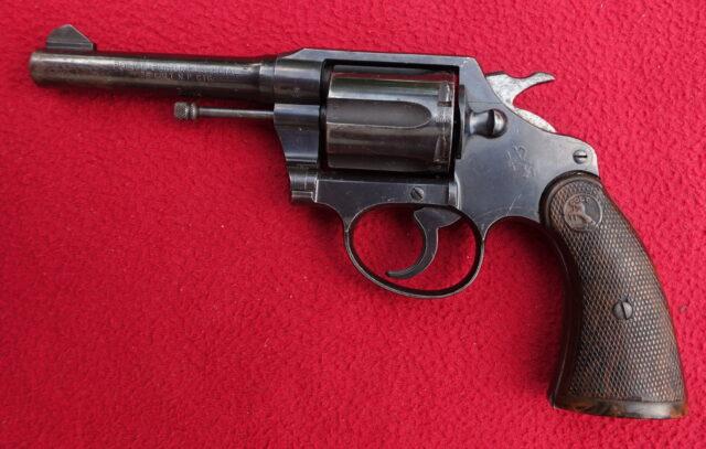 foto Revolver Colt Police Positive