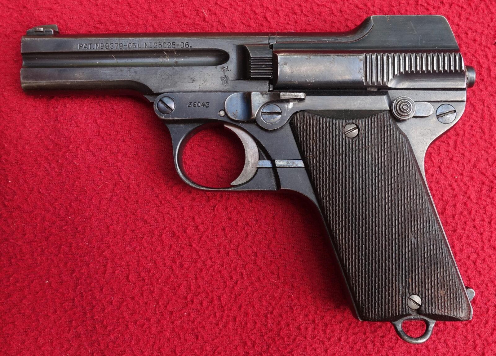 pistole steryr 1909