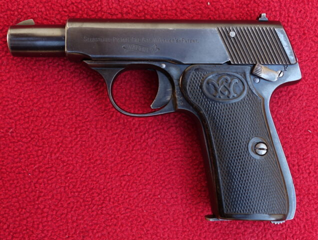 foto Pistole Walther Mod.7