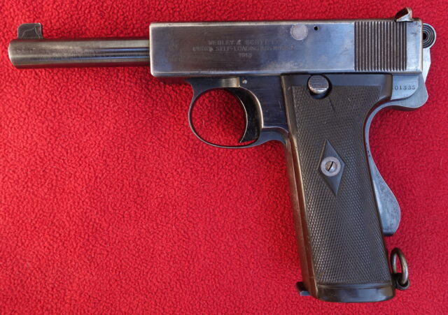 foto Pistole Webley Self Loading Mark.I