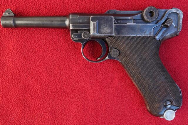 foto Pistole Mauser P.08 – REZERVOVÁNO