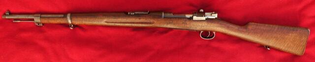 foto Puška švédský Mauser M.96/38