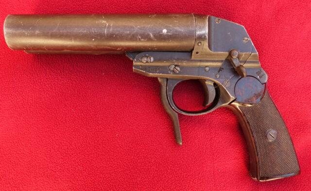 foto Německá signální pistole Model L