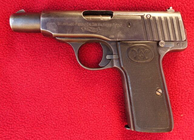 foto Pistole Walther Mod.4