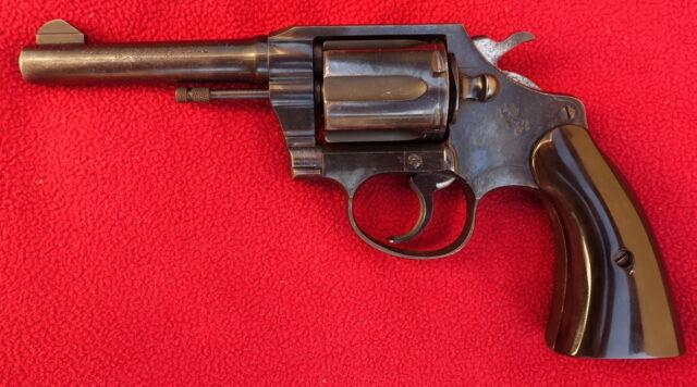foto Revolver Colt Police Positive Special