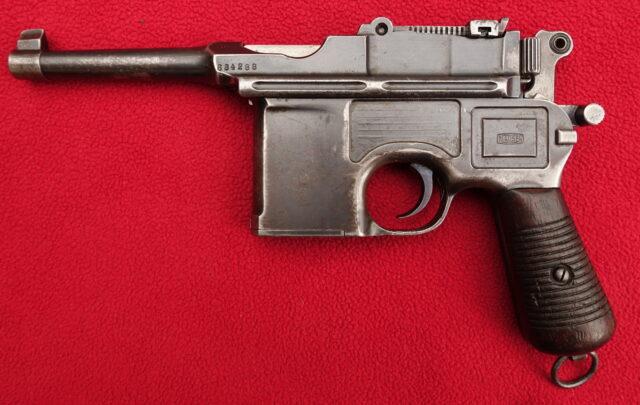 foto Pistole Mauser C96 BOLO