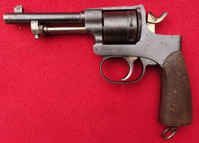 foto Revolver Rast-Gasser vz. 1898
