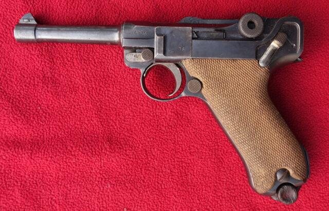 foto Pistole DWM P.08 – REZERVOVÁNO