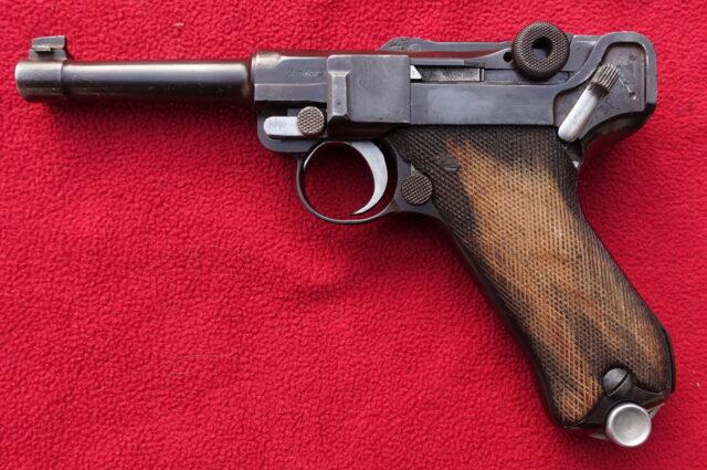 foto Pistole DWM P.08 pro civilní trh – REZERVOVÁNO