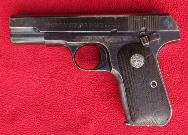 foto Pistole Colt 1903 Pocket Hammerless