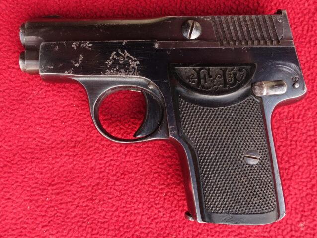 foto Pistole Langenhan Mod.2