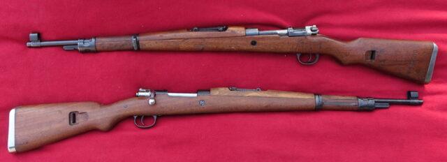foto Puška Mauser 98k- jugoslávská výroba (M.48)