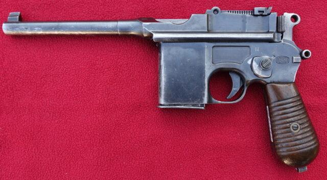 foto Pistole Mauser C96/712