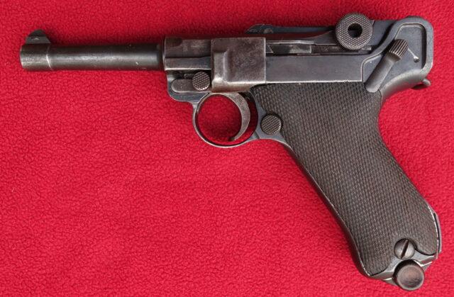 foto Pistole DWM P08 civilní provedení