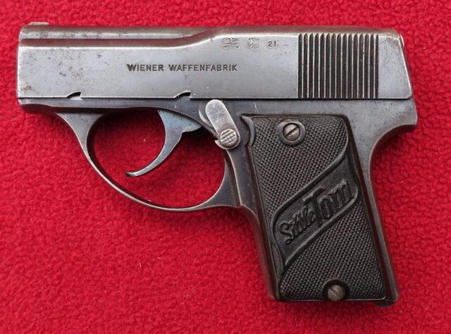foto Pistole Wiener Waffenfabrik Little Tom – REZERVOVÁNO