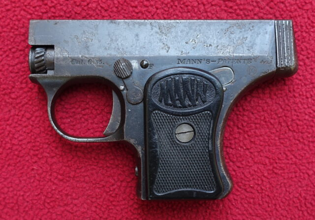 foto Pistole Mann W.T. Mod.1921
