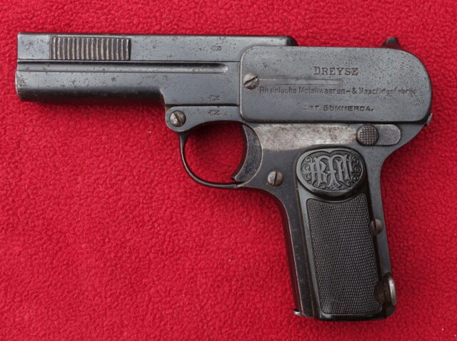 foto Pistole Dreyse 1907