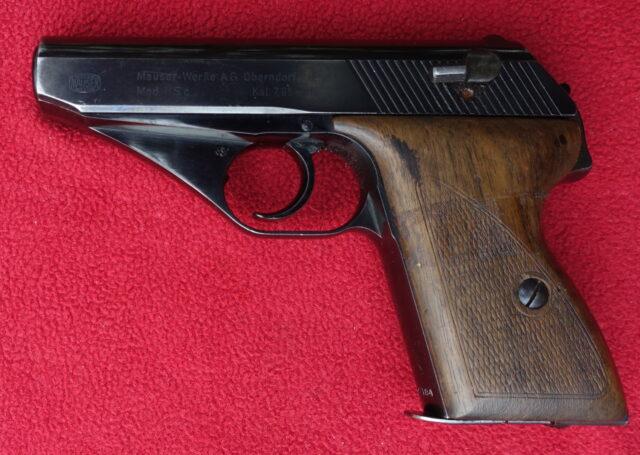 foto Pistole Mauser HSC – REZERVOVÁNO
