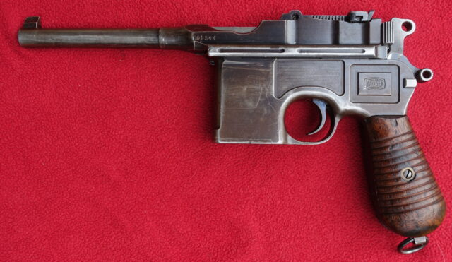 foto Pistole Mauser C96-Model 1930