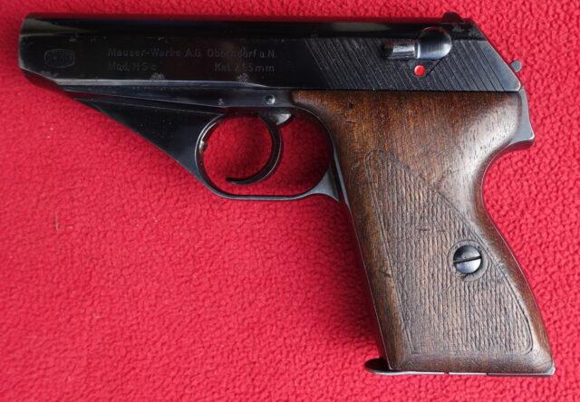foto Pistole Mauser HSC