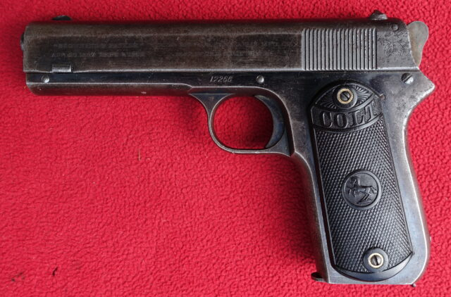 foto Pistole Colt .38 Pocket Model 1903