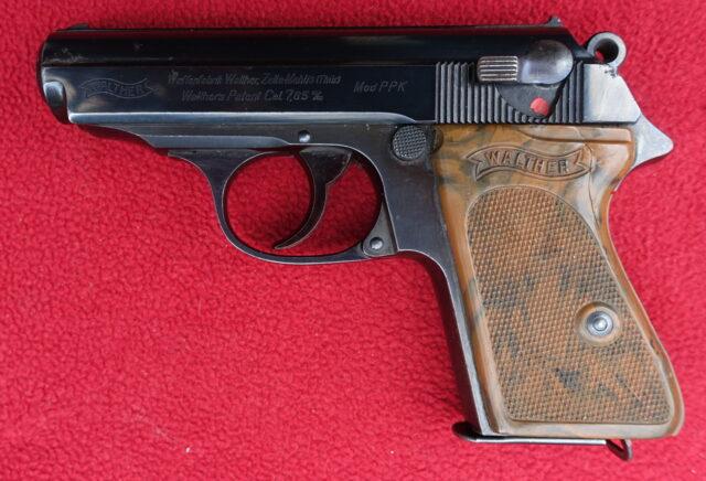 foto Pistole Walther PPK Zella Mehlis – REZERVOVÁNO