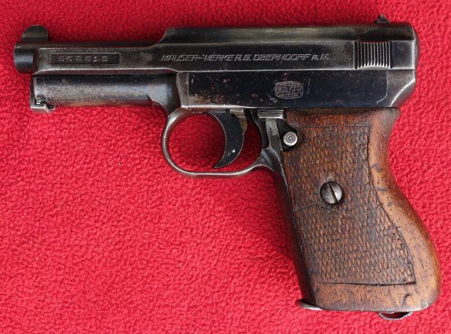 foto Pistole Mauser 1914/34