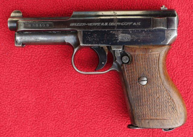 foto Pistole Mauser 1914/34 pro Wehrmacht