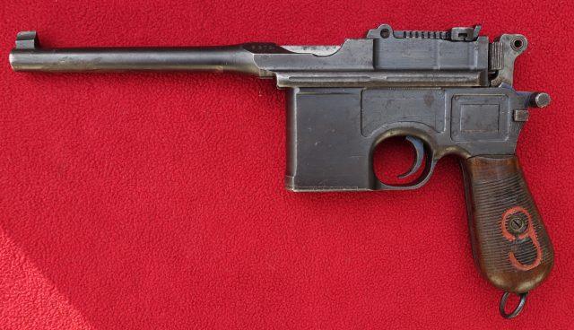 foto Pistole Mauser C96 v ráži 9mm Luger – REZERVOVÁNO
