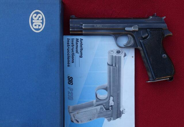foto Pistole SIG 210 – REZERVOVÁNO