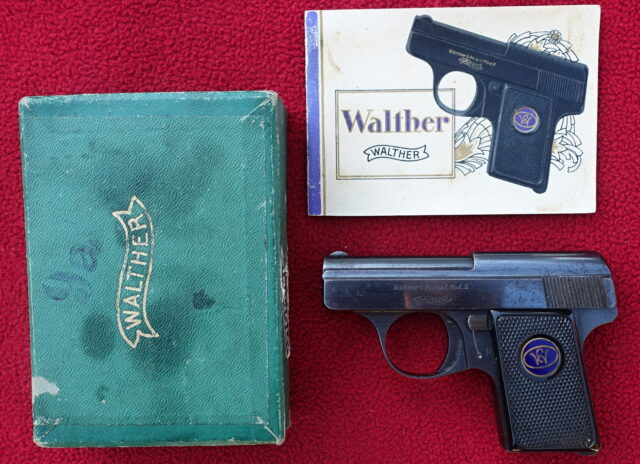 foto Pistole Walther Mod.9
