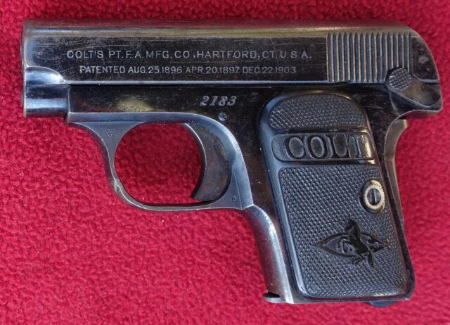 foto Pistole Colt 1908 Hammerless