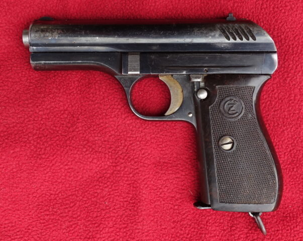 foto Pistole ČZ Vz.24 z finského kontraktu