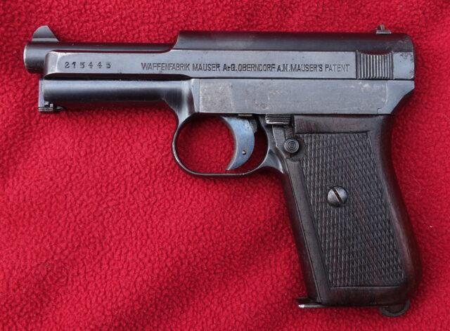 foto Pistole Mauser 1914 – REZERVOVÁNO