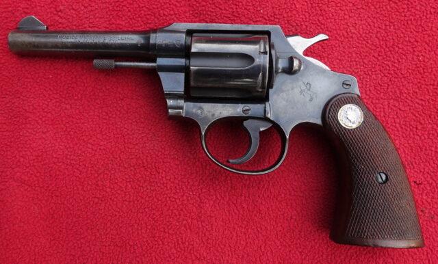 foto Revolver Colt model Police positive Special