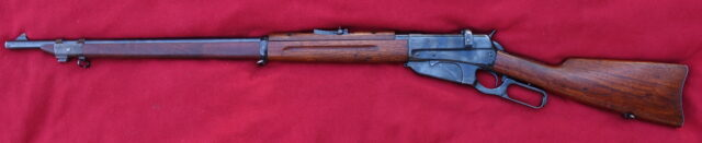 foto Puška Winchester 1895 pro Rusko – REZERVOVÁNO