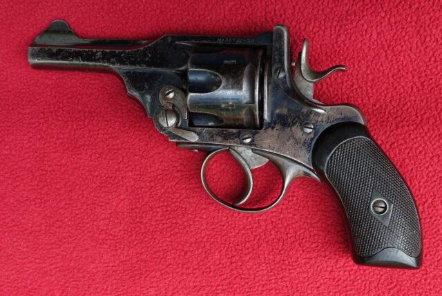 foto Revolver Webley Mark III