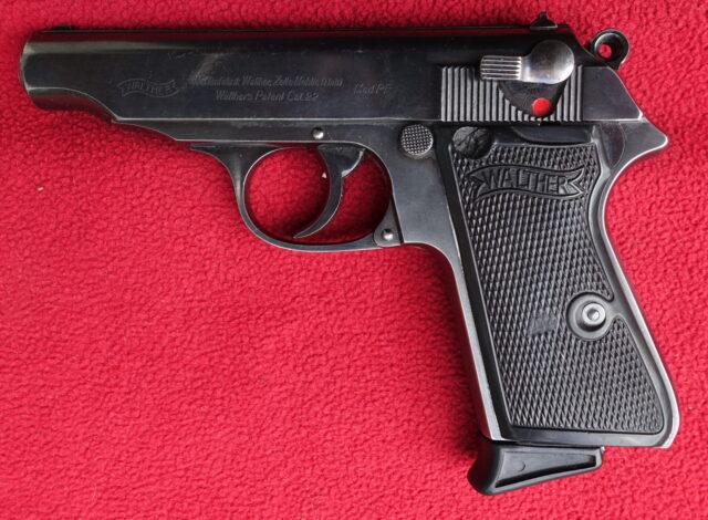 foto Pistole Walther PP Zella Mehlis v ráži .22LR