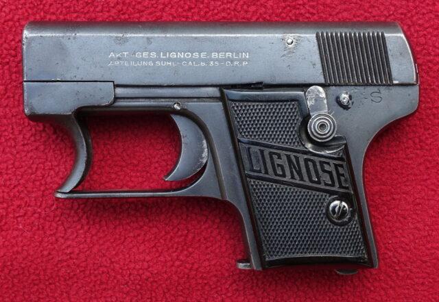 foto Pistole Lignose 2-A – REZERVOVÁNO