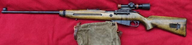 foto Československá odstřelovačská puška vz. 54