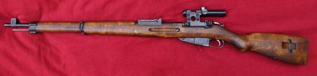 foto Puška VKT M.39 (finský Mosin) – s originální sovětskou optikou PU