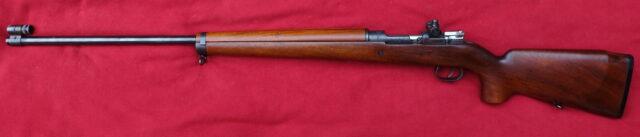 foto Švédská sportovní puška M.63 v ráži .308 Winchester