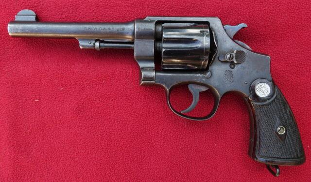 foto Revolver Smith & Wesson M.1917 pro Brazilii – REZERVOVÁNO