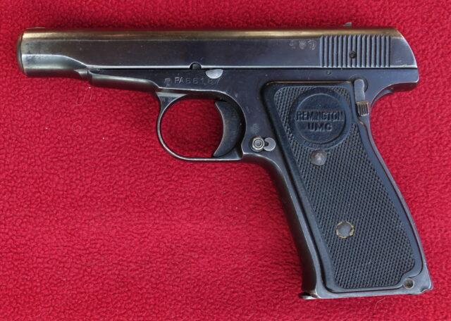 foto Pistole Remington Model 51 – REZERVOVÁNO