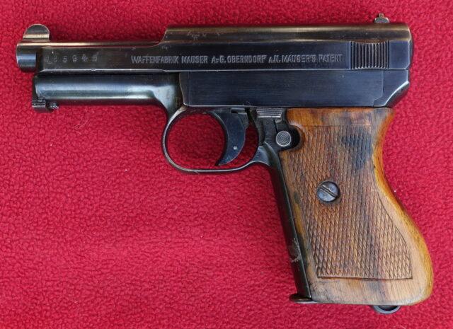 foto Pistole Mauser 1910/14 – REZERVOVÁNO