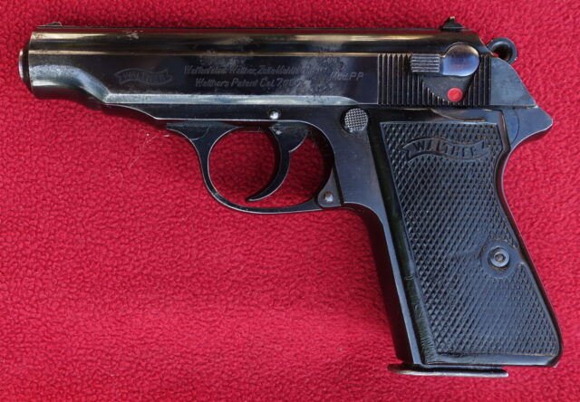 foto Pistole Walther PP Zella Mehlis