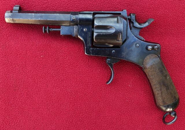 foto Italský armádní revolver vzor 1889 (Bodeo) – REZERVOVÁNO