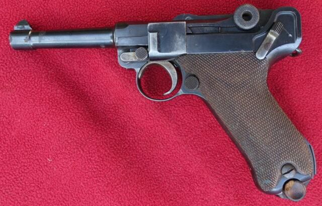 foto Pistole DWM P08 – civilní provedení – REZERVOVÁNO