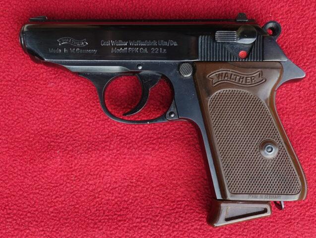 foto Pistole Walther PPK – Ulm v ráži .22LR