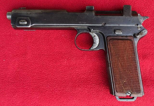 foto Pistole Steyr 1912 – REZERVOVÁNO